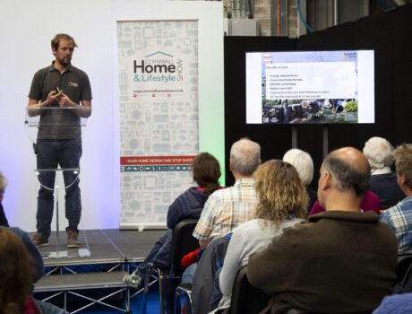 Seminars from experts in the self build industry and Cornwall Home & Garden Show