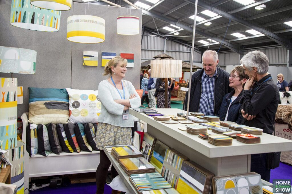 Interior and homeware market at the Cornwall Home & Garden Show